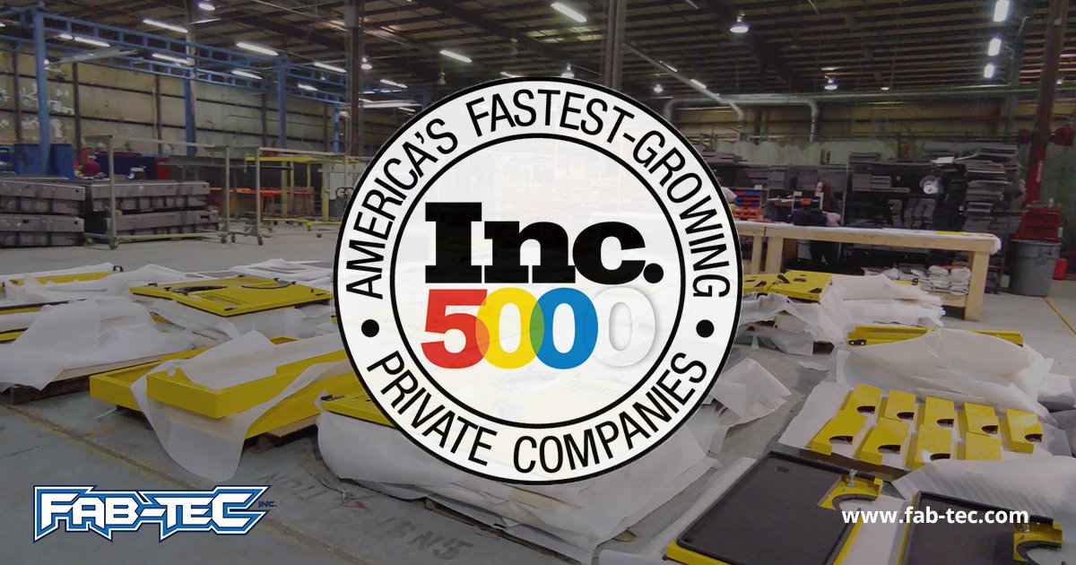 Fab-Tec Named to Inc. 5000 List